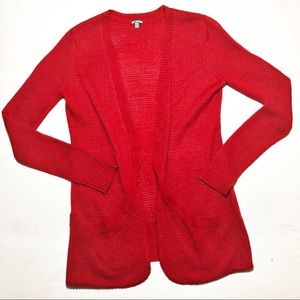 CHARLOTTE RUSSE Bright Red Sweater Size Small